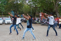 Flash Mob by students at Kanakakunnu on Feb 28