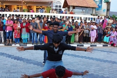 Flash mob by students at Shankumugham Beach on Feb 25