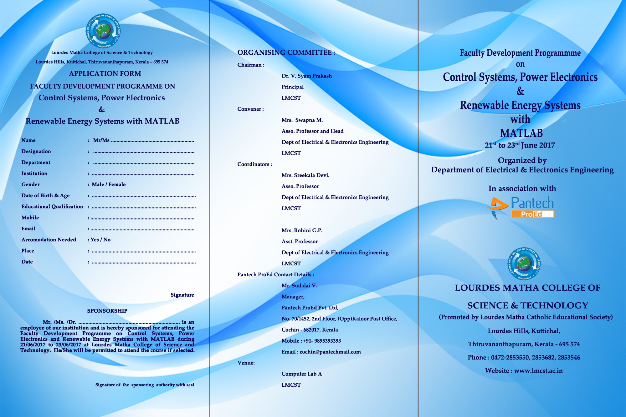 """FDP on """"Control Systems, Power Electronics & Renewable Energy"""