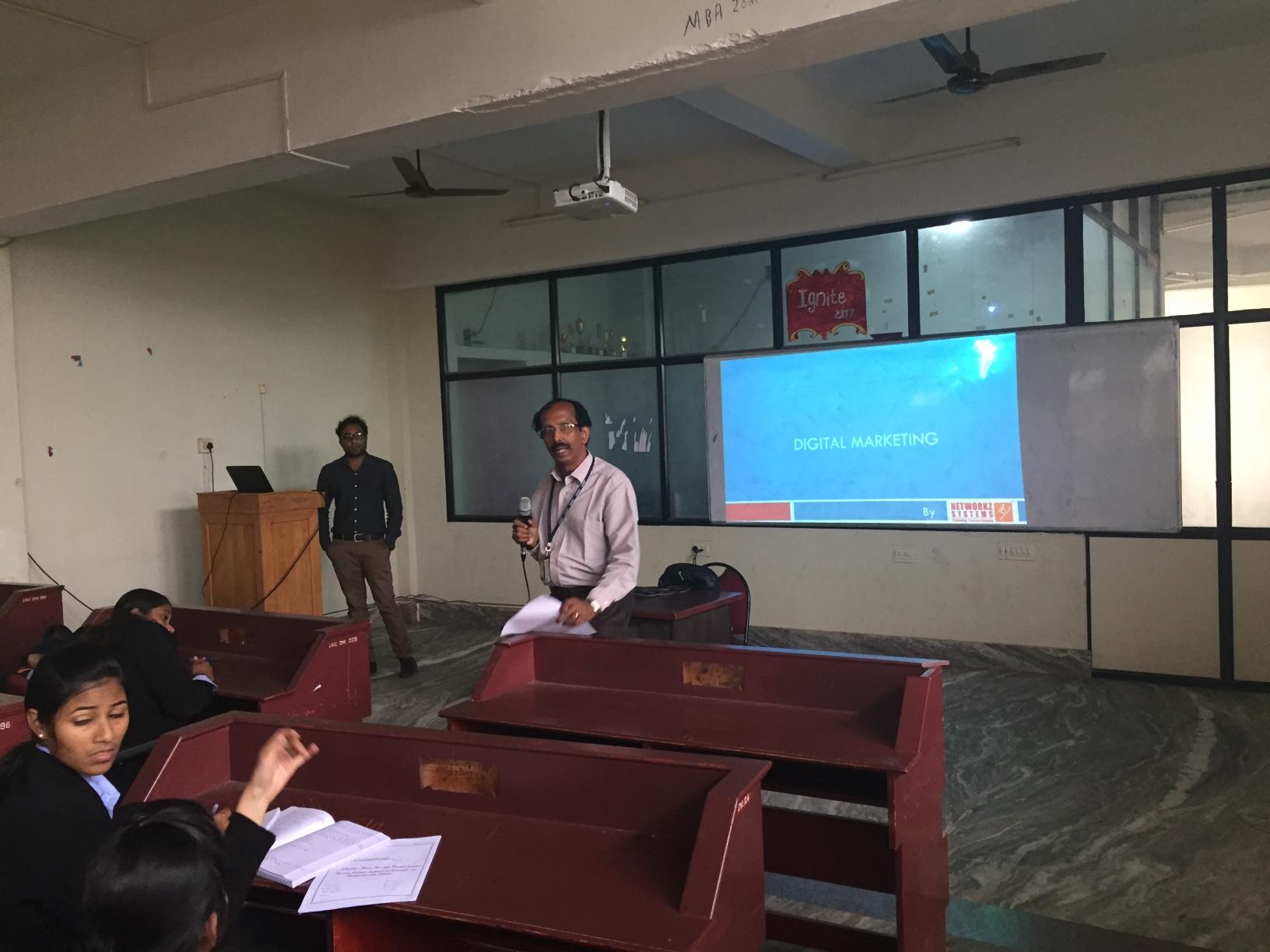 Seminars/Conference/talks – MBA – Lourdes Matha College of
